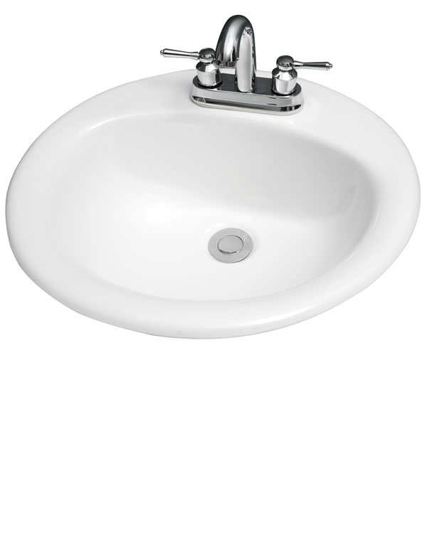 DESOTO 19u201d ROUND DROP IN LAVATORY DL11919