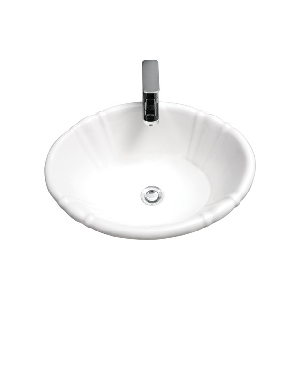 "VICTORIANA 20"" X 16"" OVAL DROP IN LAVATORY"